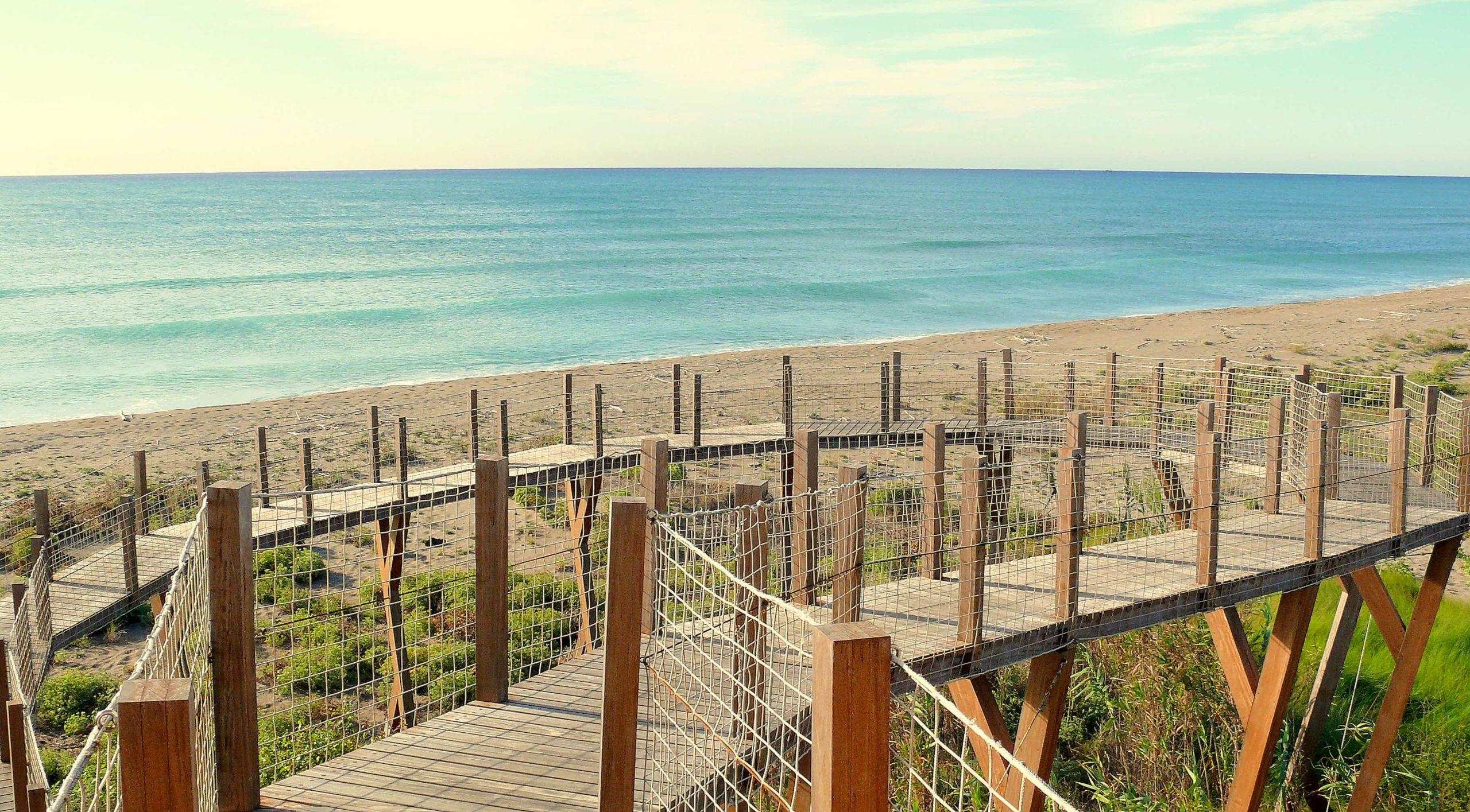 Les platges del delta del Llobregat