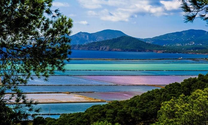 Les platges del parc natural de Ses Salines