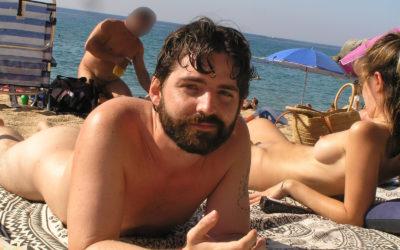 Retrats naturistes: Cristian, de Barcelona
